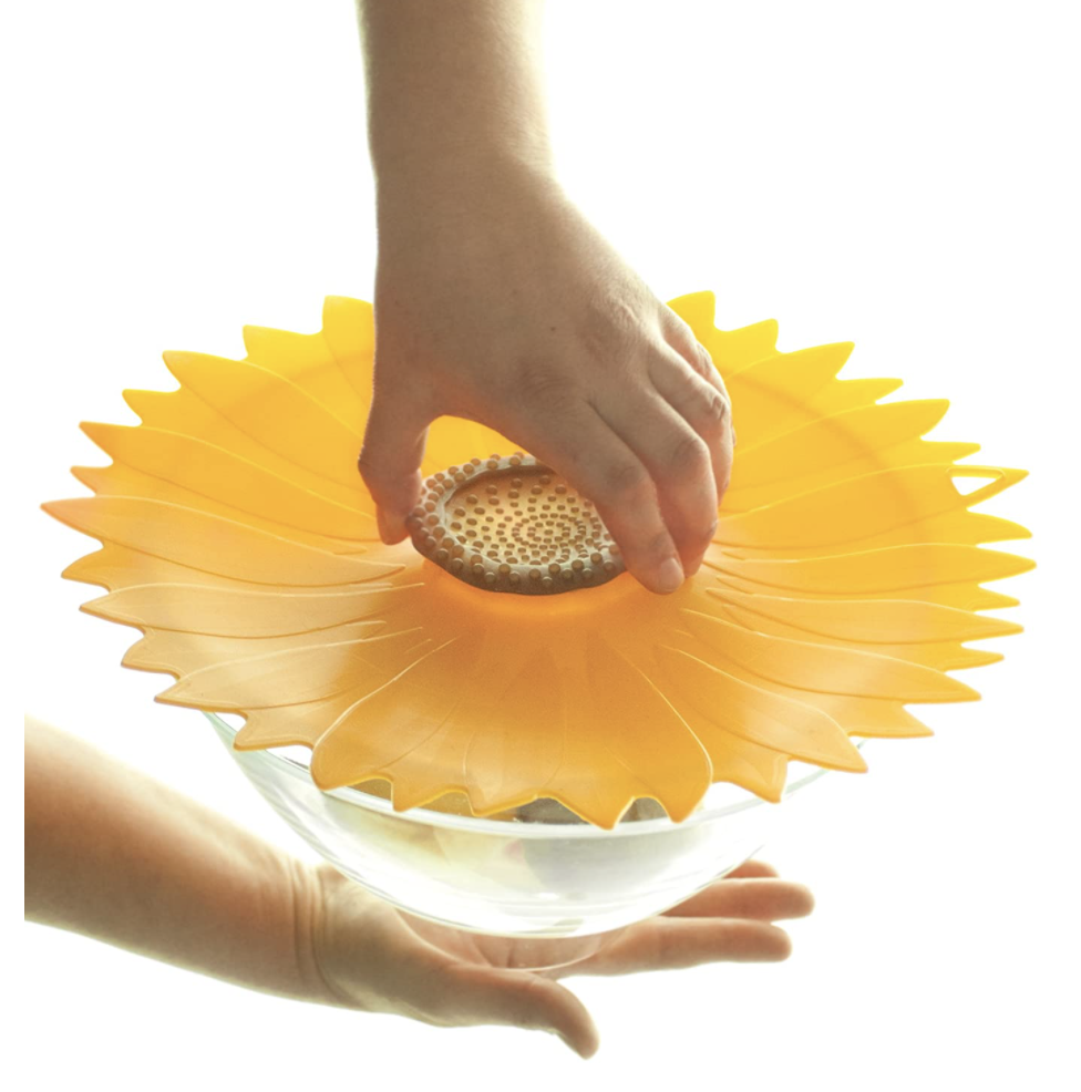 Sunflower Silicone Lid, various sizes