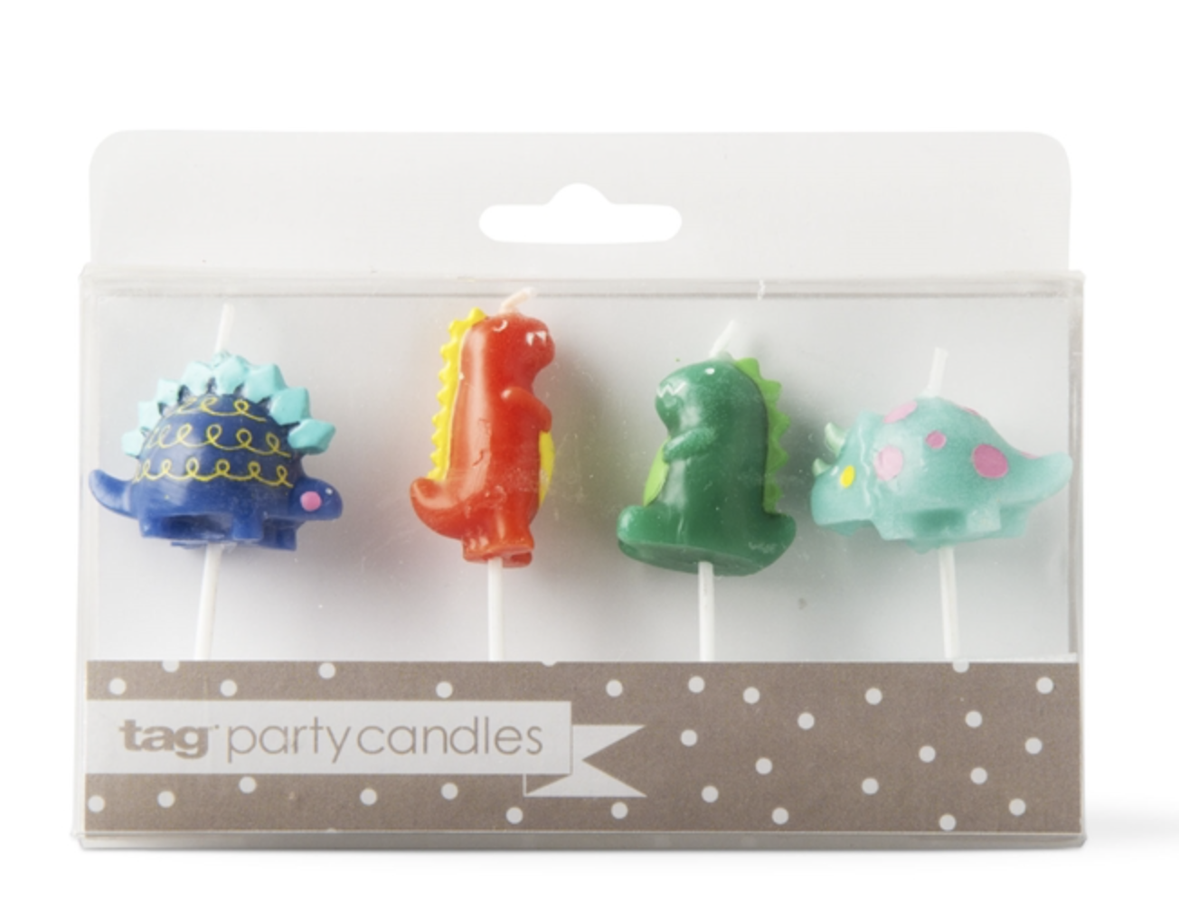 Party Candles: Dinosaurs