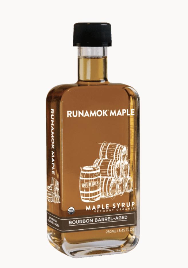 Bourbon Barrel-Aged, Organic Maple Syrup, 250ml