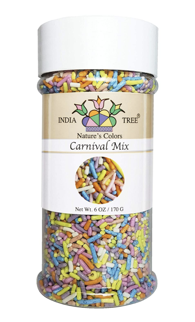 Carnival Mix Sprinkles, Small Jar 2.7 oz