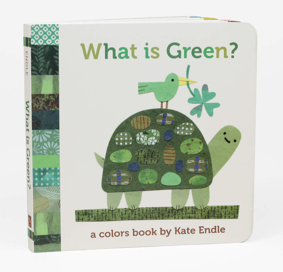 """""""What is Green?"""" Board Book"""