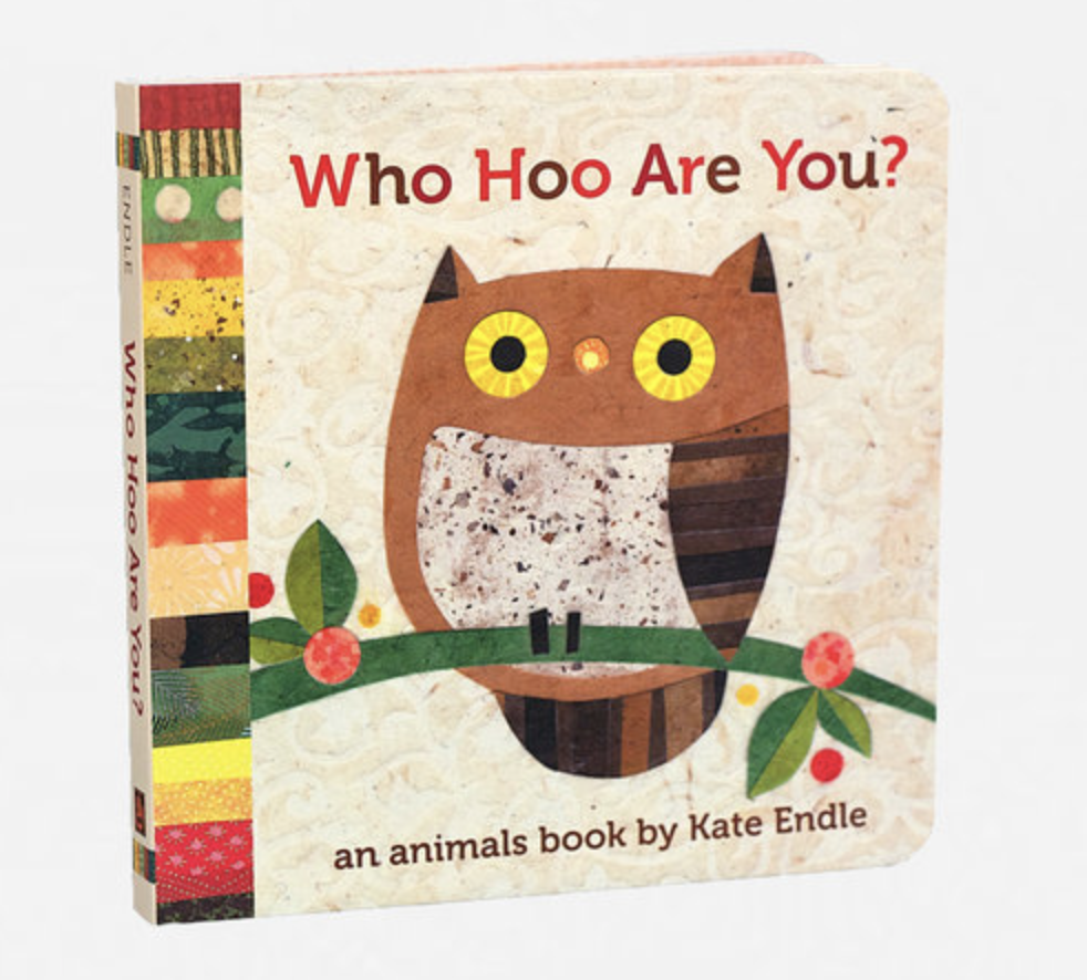 """Who Hoo Are You?"" Board Book"