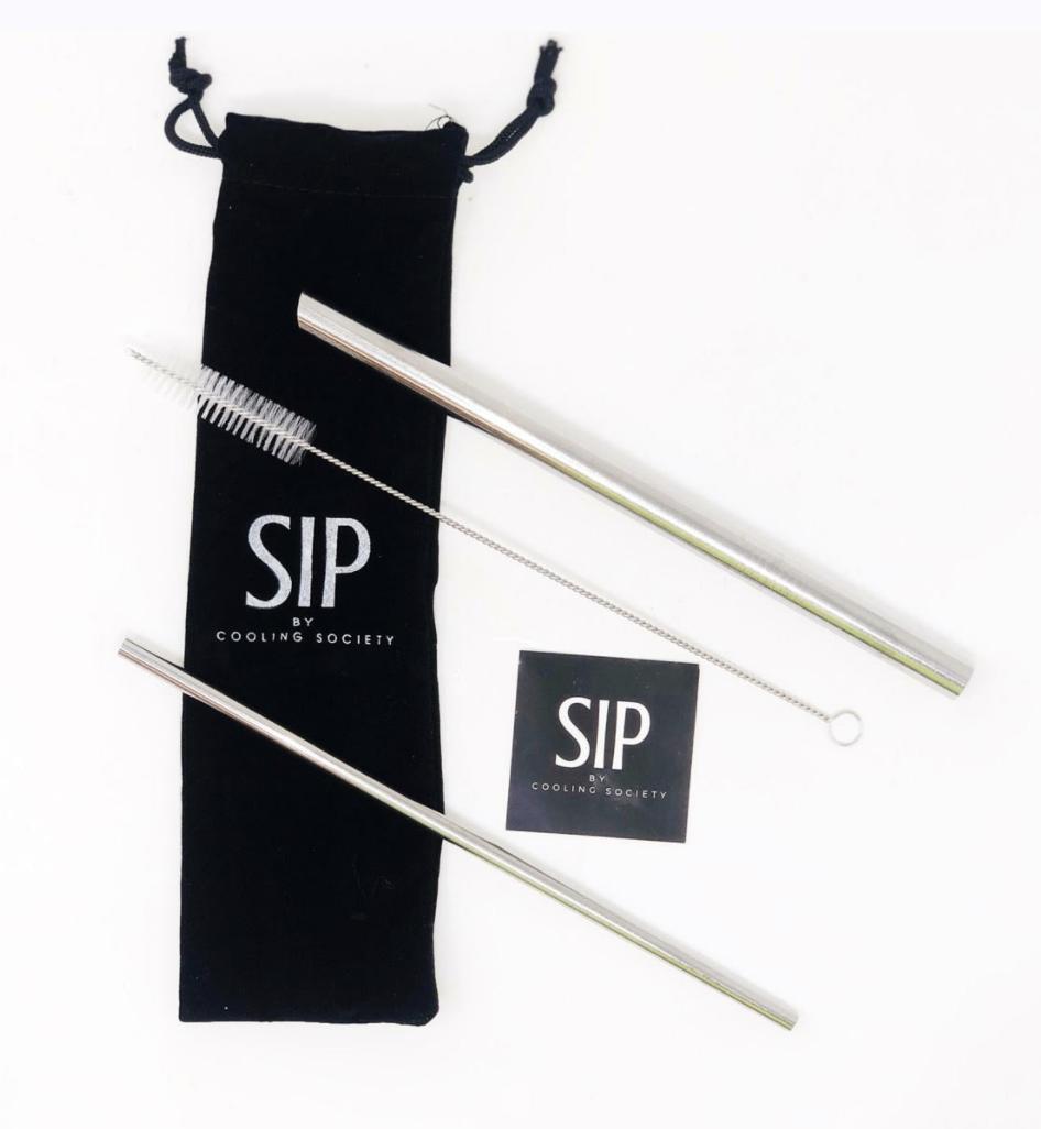 SIP Straw Set with Brush