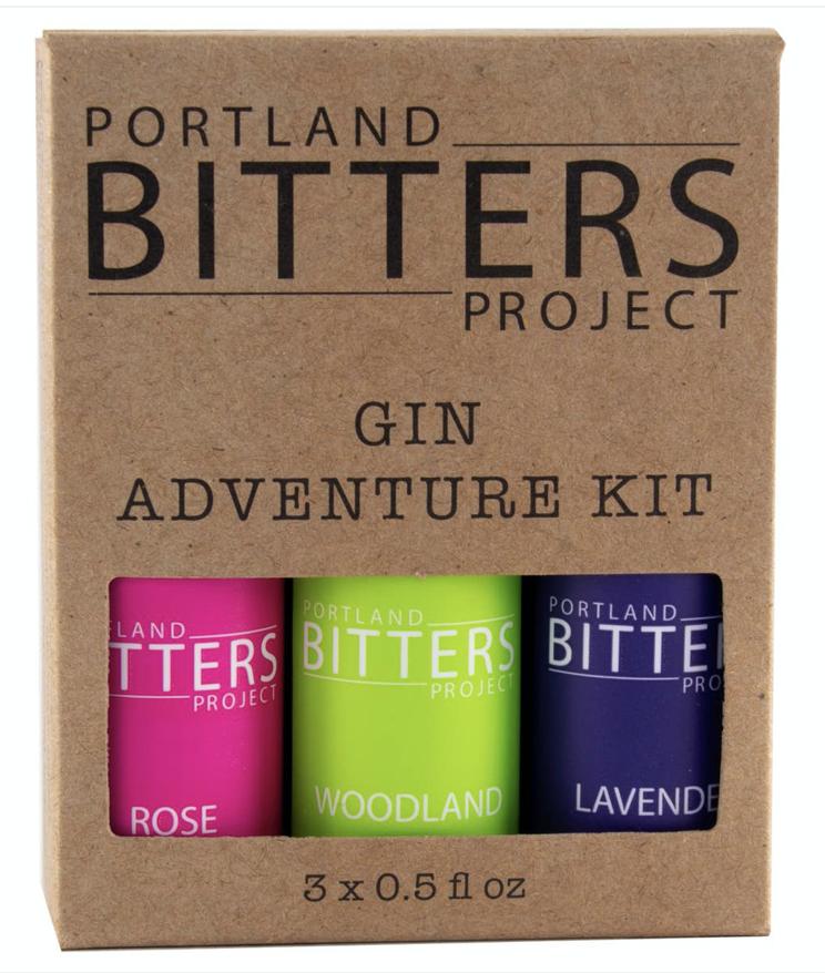 Portland Bitters Project Gin Bitters Adventure Kit