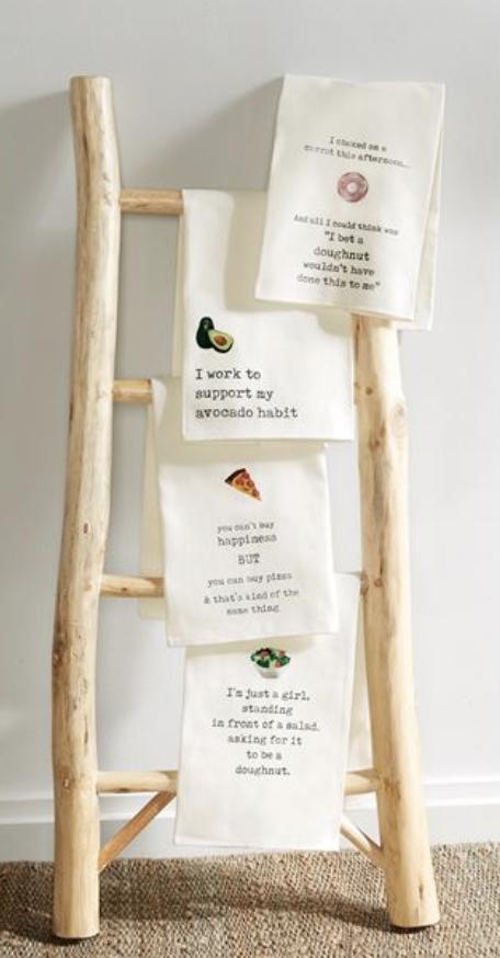 'Avocado Habit' Tea Towel