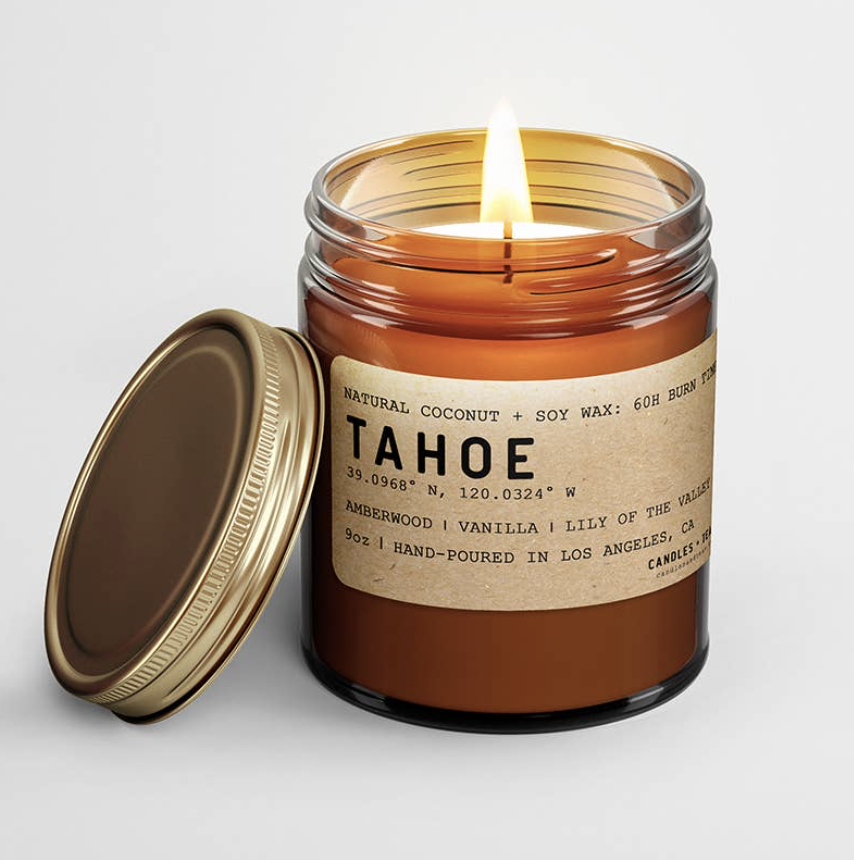 Tahoe: All Natural Coconut Soy Wax Candle