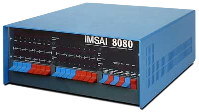 Image of the IMSAI computer used to develope the Fadal CNC in 1975.