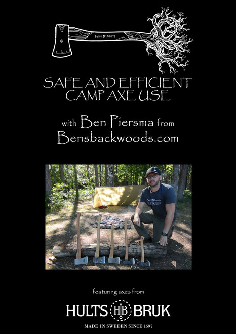 Safe And Efficient Camp Axe Use DVD Featuring Hults Bruk Axes