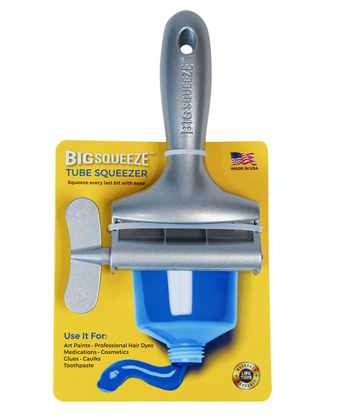 Silver Big Squeeze Tube Squeezer