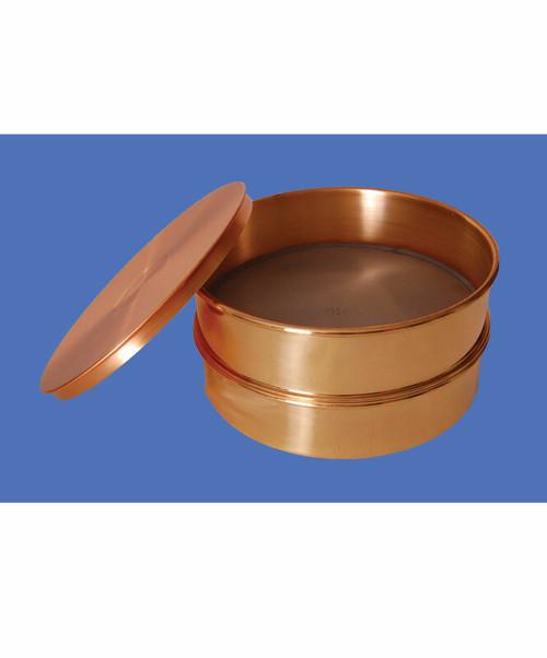 Gilson Brass Laboratory Sieve / 8 in. #120 Stainless Cloth