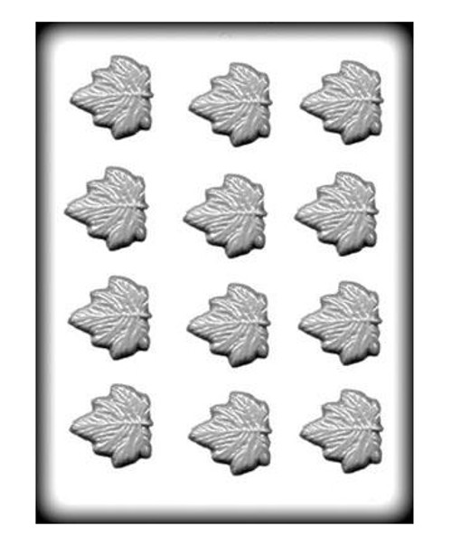 Maple Leaves Hard Candy Mold / 1.75 in.