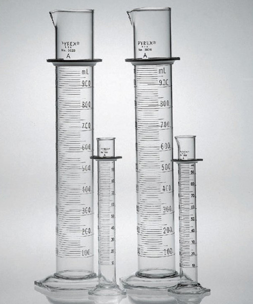 Dual Scale PYREX Class A Cylinder / 2000 ml