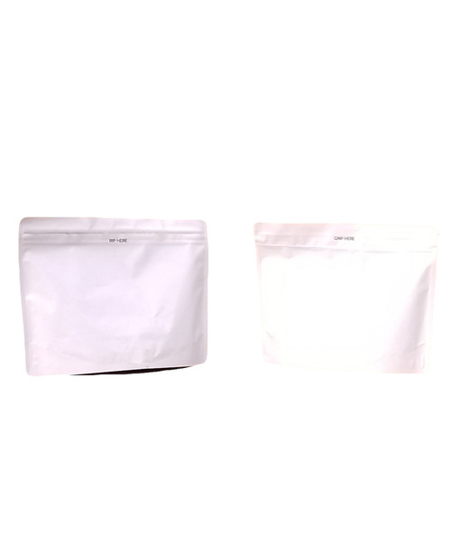White 8x6x2in. CR Bags