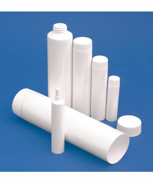 White 4oz Ointment Tubes