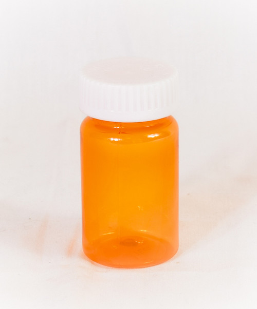 Amber 20dr Prefer Vial CR cap