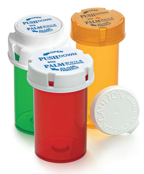 Friendly & Safe Prescription Vials