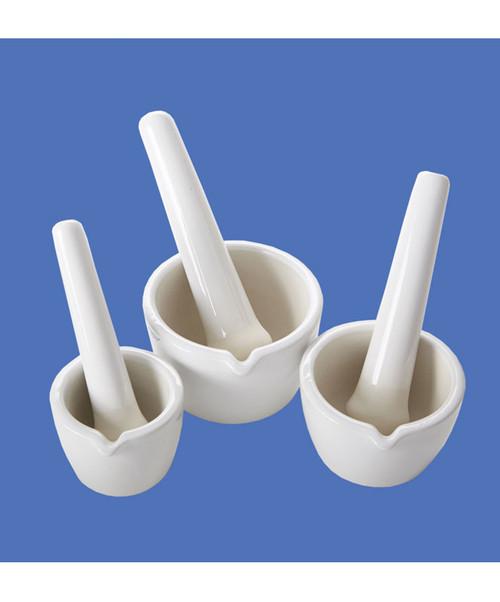 Porcelain Mortar & Pestles