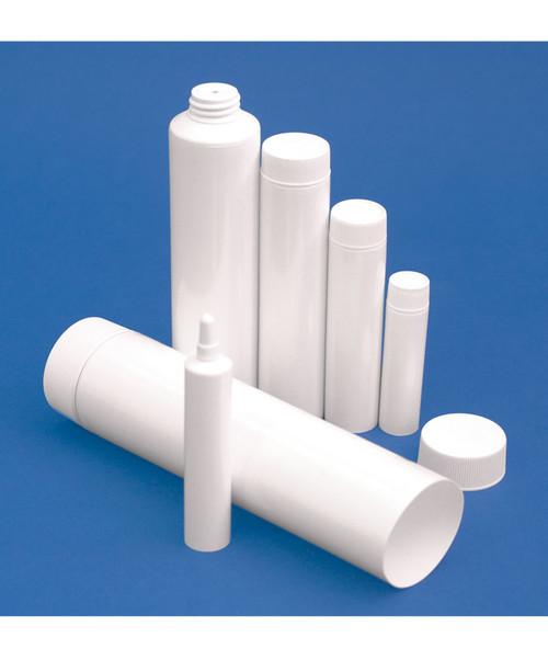 White 2oz Ointment Tubes