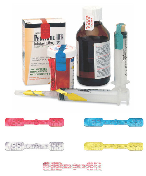IVA™ Seals for Syringes & Medication Containers