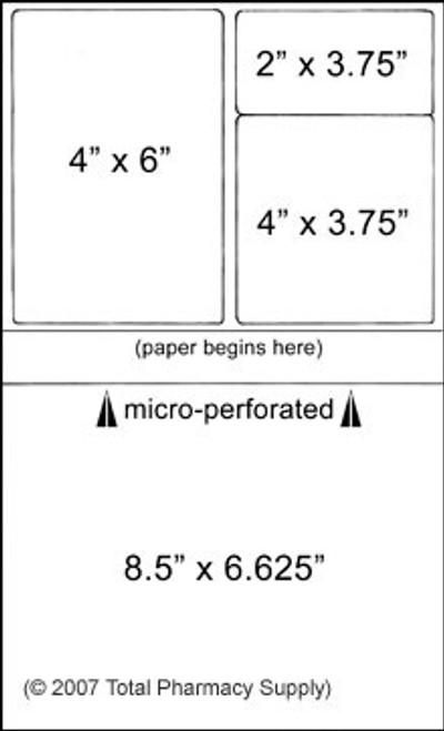Prescription Labels for Laser Printers