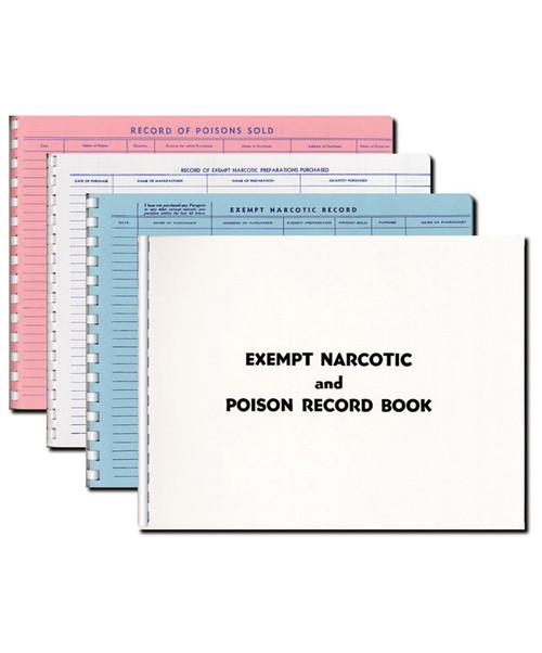 Pharmacy Register/Record Books