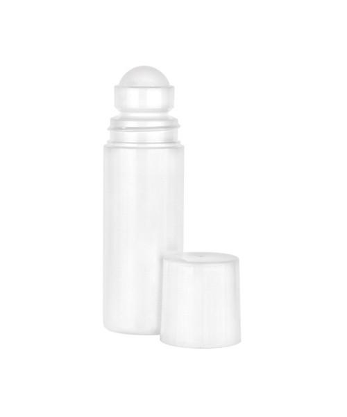 White HDPE Roll-On Bottles