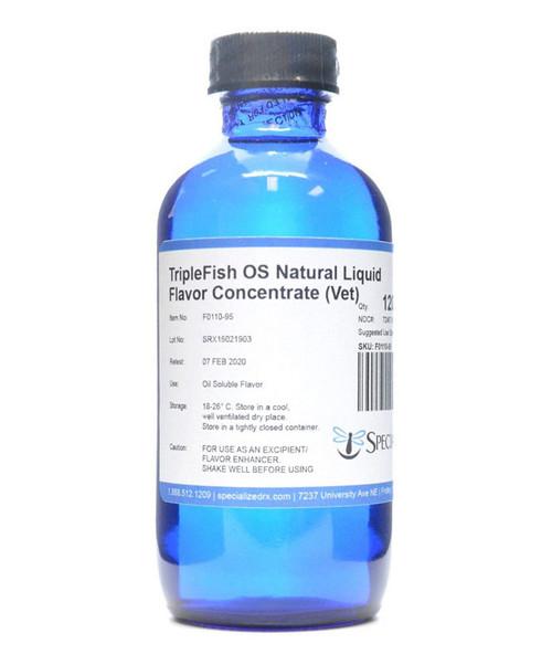TripleFish, Vegetarian OS Natural Liquid Flavor Concentrate (Vet)
