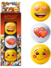 Emoji Golf Balls - 3 Pack Love