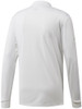 Adidas Essentials Long Sleeve Polo - White