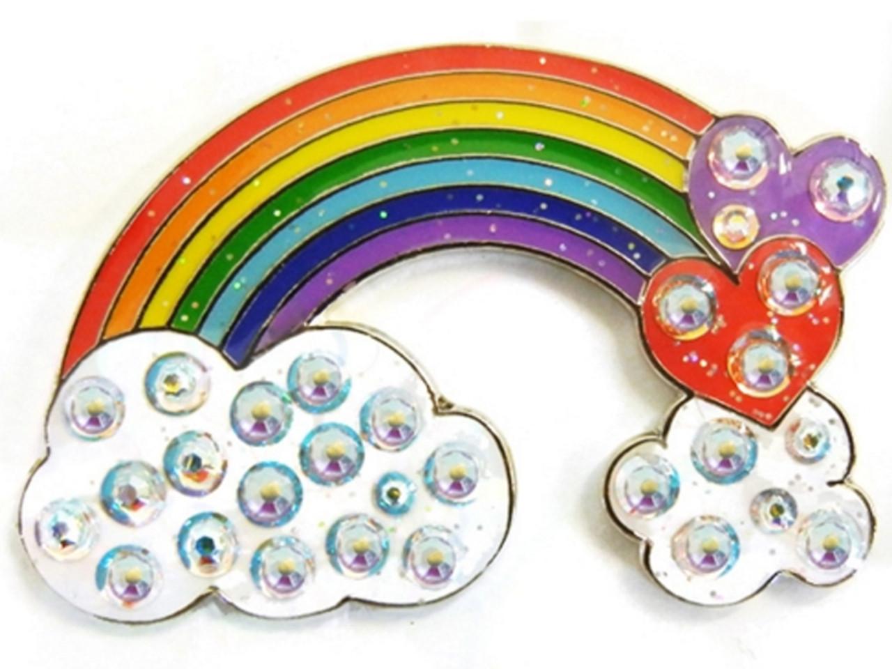 Navika Swarovski Crystal Rainbow Marker
