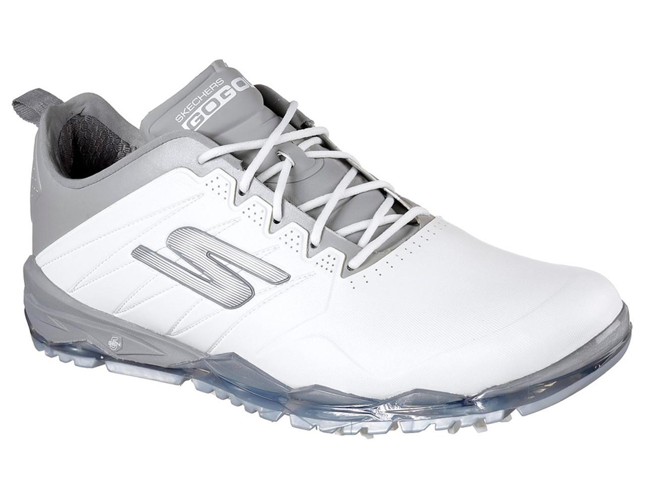 Skechers Go Golf Focus 2 Golf Shoes - White Grey - Mens For Sale ... fdf08fd4882b