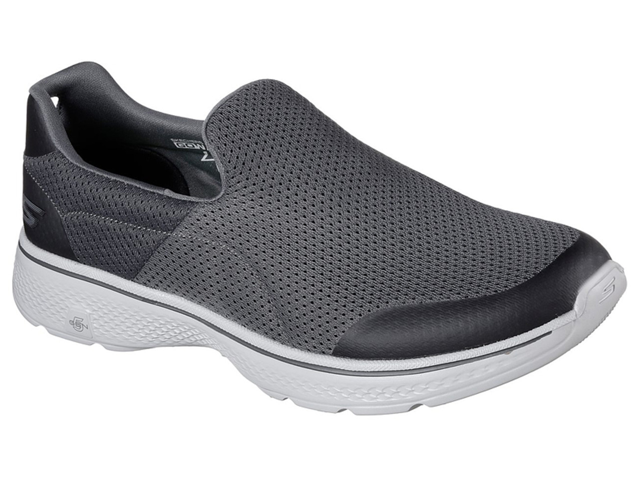 order best supplier running shoes Skechers Go Walk 4 Incredible Shoes - Charcoal