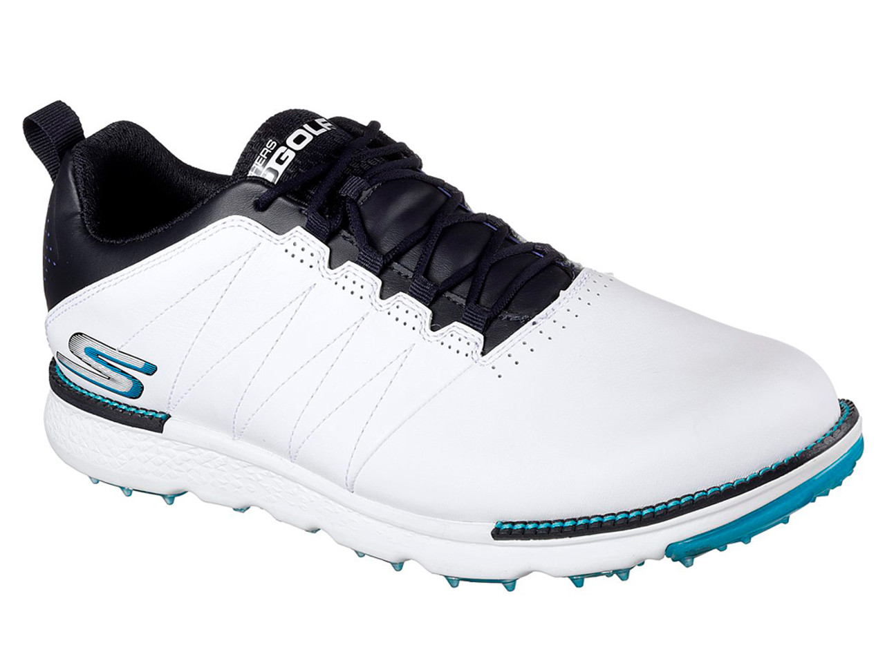 arrives utterly stylish most popular Skechers Go Golf Elite 3 Golf Shoes - White/Navy