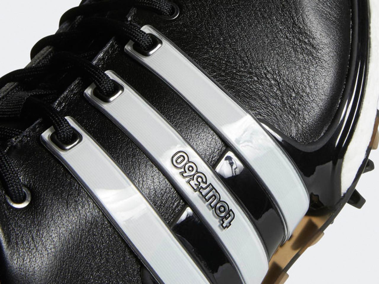 Adidas Tour 360 Boost 2 0 Golf Shoes Core Black White Mens Golfbox