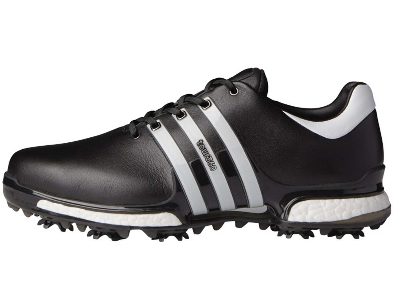transportar Jugar juegos de computadora Masaje  Adidas Tour 360 Boost 2.0 Golf Shoes - Core Black/White - Mens | GolfBox