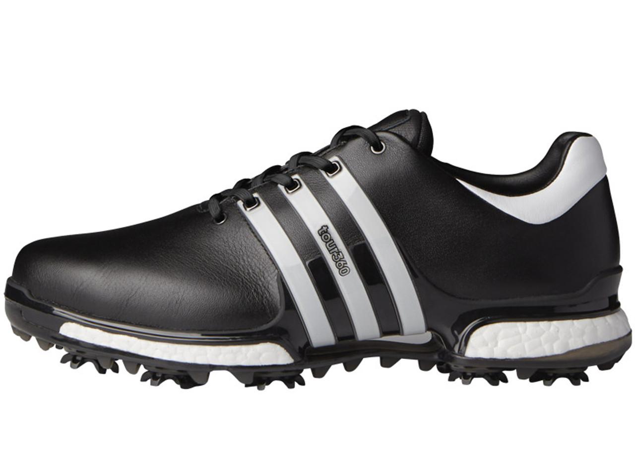 design de qualité 9c6bf 8ea79 Adidas Tour 360 Boost 2.0 Golf Shoes - Core Black/White