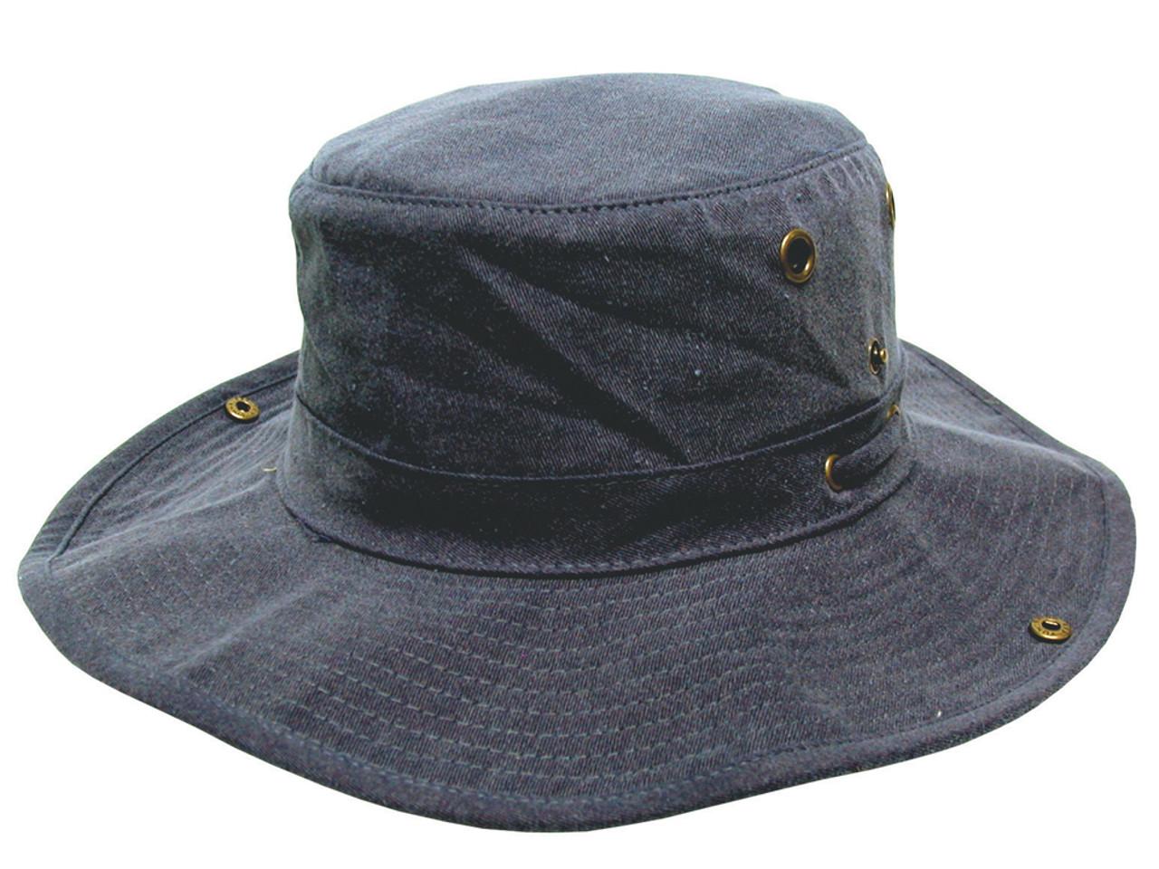Avenel Floatation Wide Brim Hat - Navy - Mens - Cotton For Sale ... c5c7ef77f45