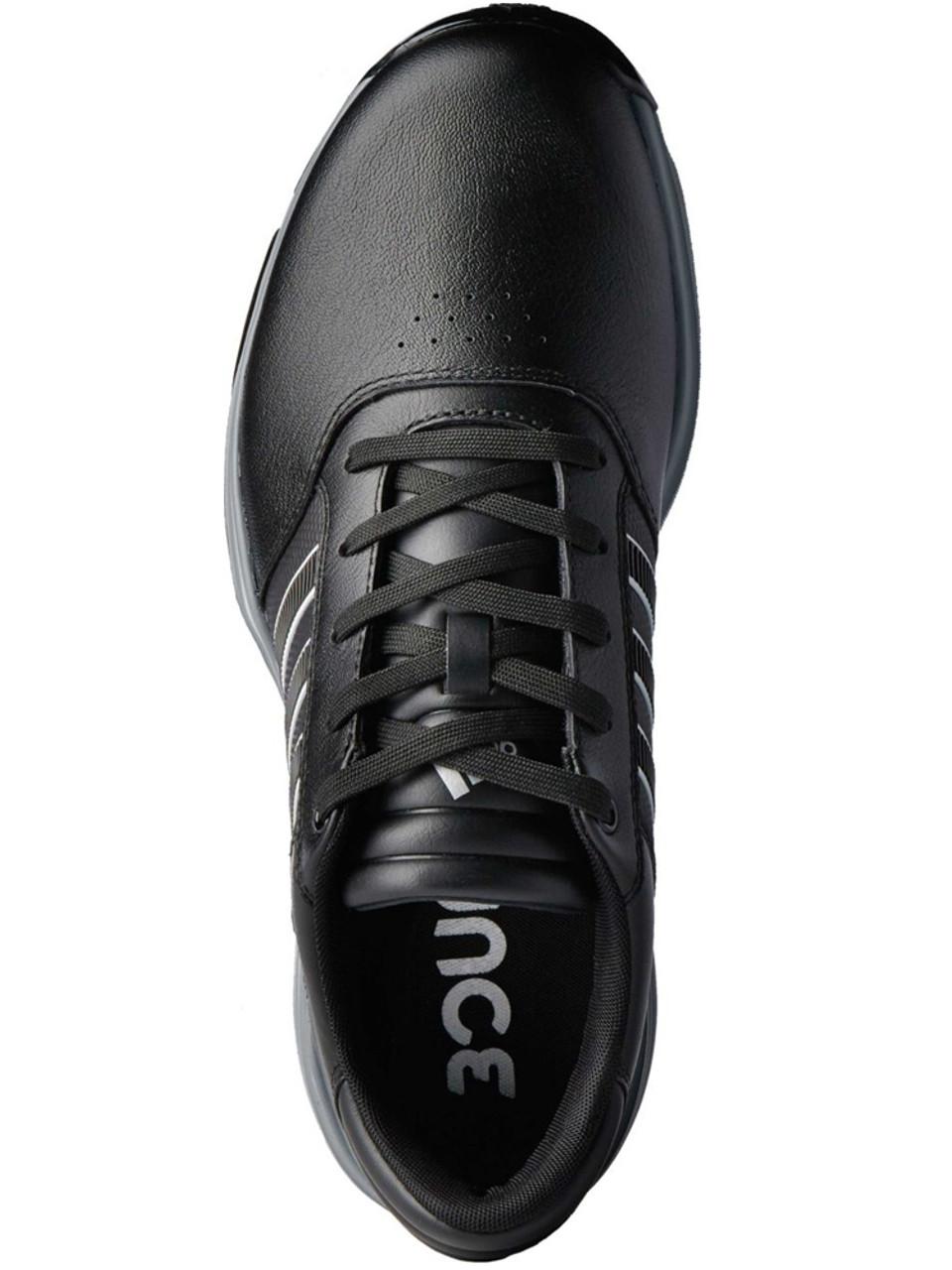 newest 35341 e03a3 Adidas 360 Bounce Golf Shoes - Black FWTR White Dark Sil Met