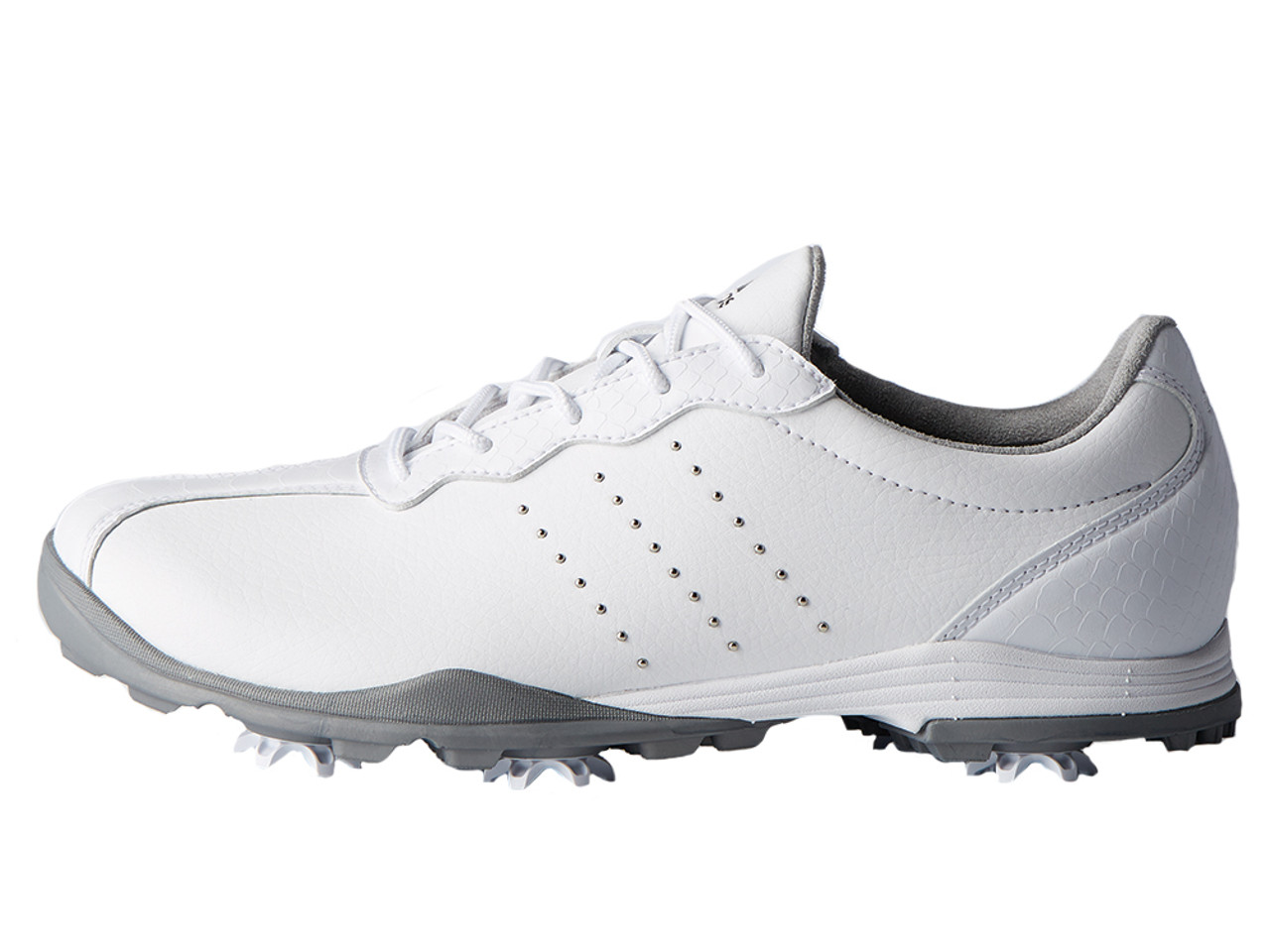 new products 93685 810fc Adidas W Adipure DC Golf Shoes - FTWR WhiteSilver Met.