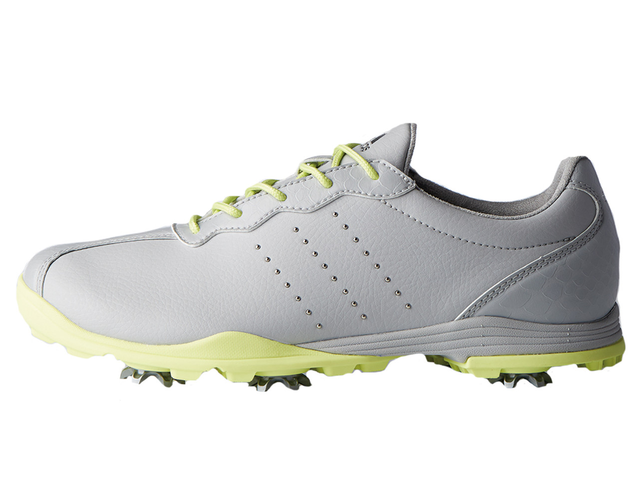 new styles fbd5f f59ba Adidas W Adipure DC Golf Shoes - Grey OneFrozen Yellow
