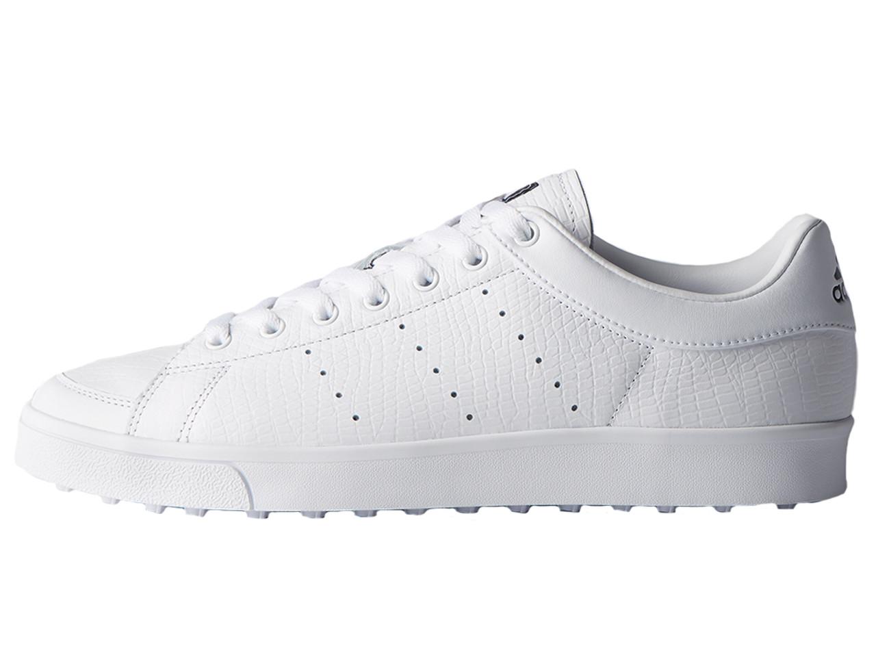 tratar con Parte Pasivo  Adidas Adicross Classic Golf Shoes - FTWR White - Mens   GolfBox