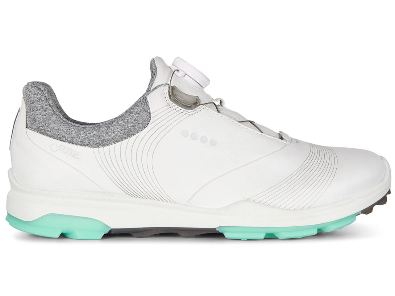 e17256bb9816 Ecco W Biom Golf Club Hybrid 3 BOA Golf Shoes - White Emerald ...