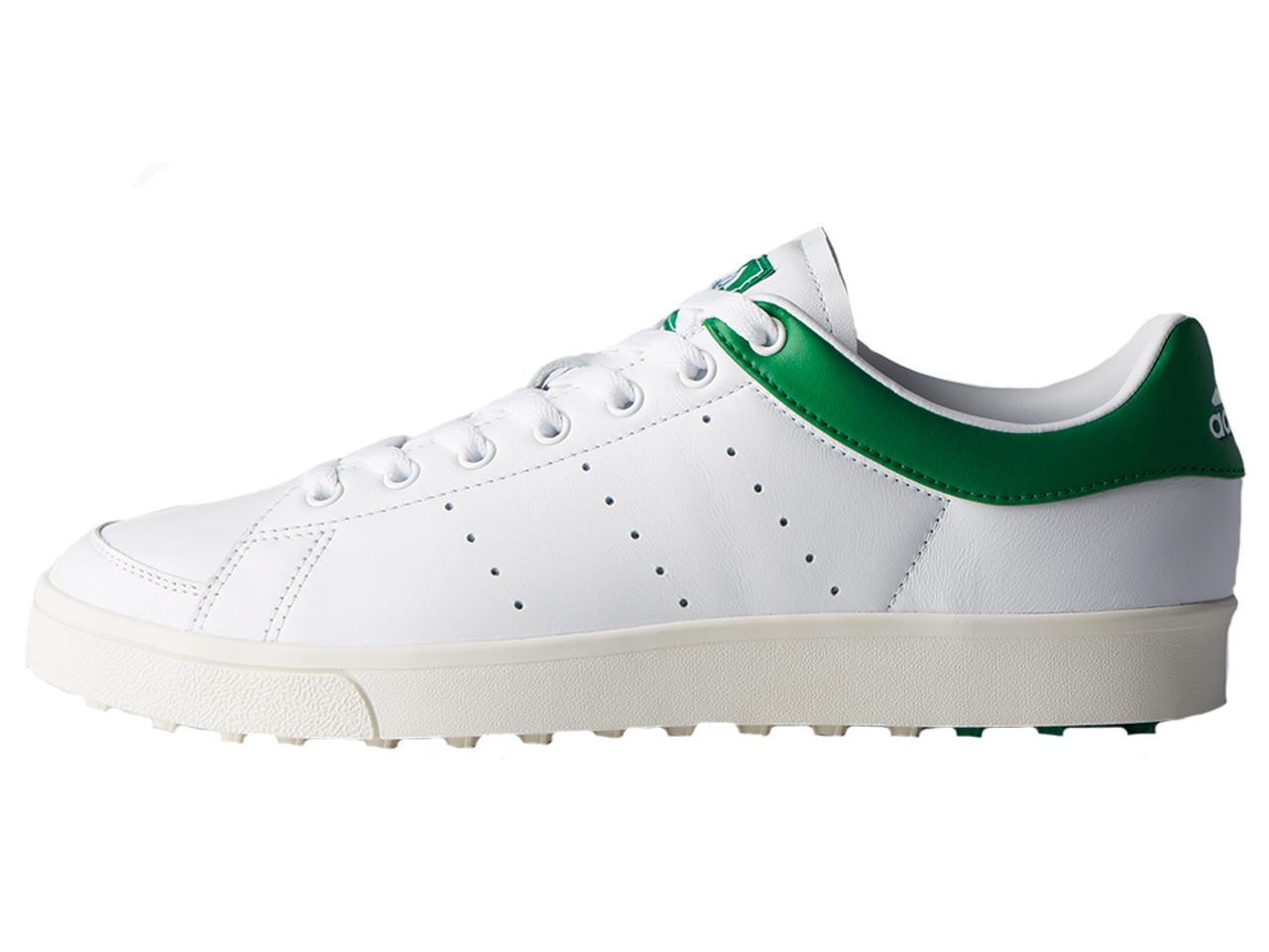 esperanza Azotado por el viento buffet  Adidas Adicross Classic Golf Shoes - FTWR White/Green - Mens | GolfBox