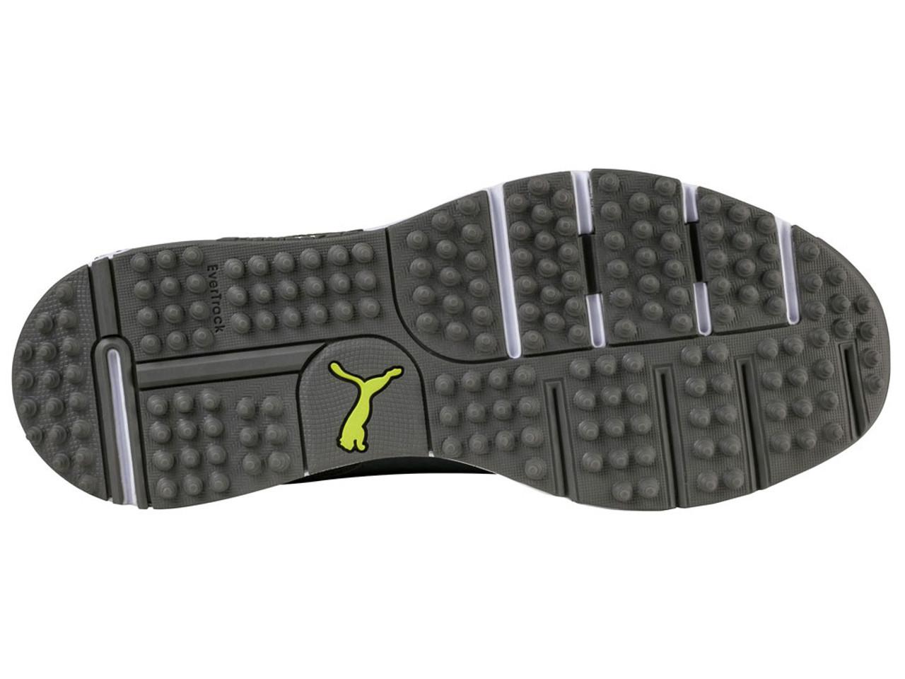 a320125745b5 Puma Grip Sport Tech Golf Shoes - Quiet Shade Acid Lime - Mens For ...