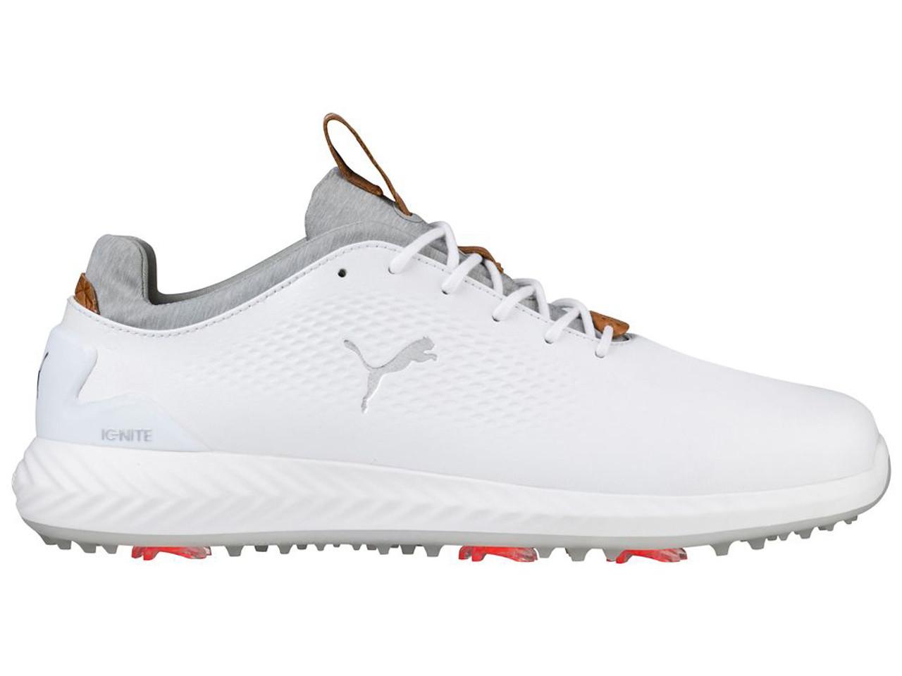Puma Ignite PWRadapt Leather Shoes - White - Mens For Sale  fe929c0cb