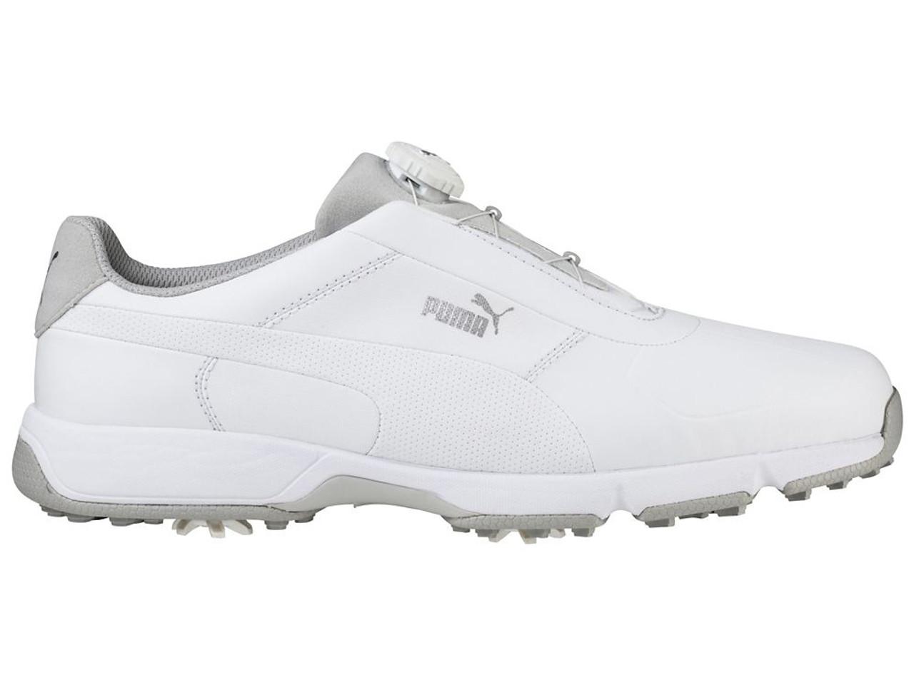 Disc Puma Drive Ignite White Shoes CxeodB
