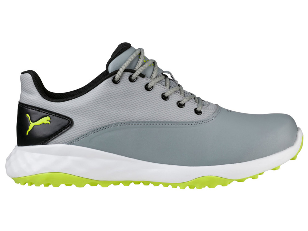 4b823c14bc12 Puma Grip Fusion Shoes - Quarry Acid Lime Black - Mens For Sale ...