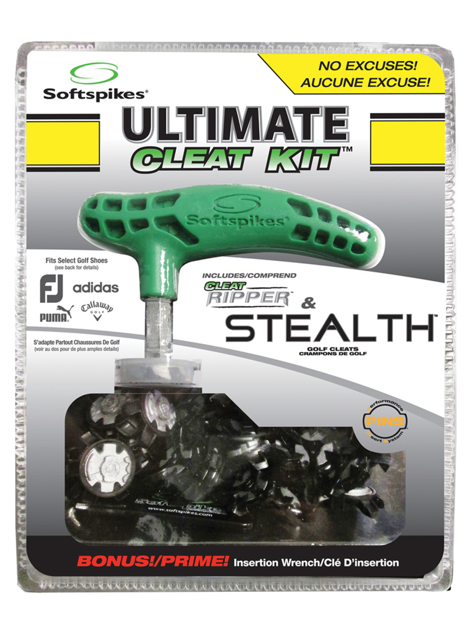 88792eda9 SoftSpikes Stealth Ultimate Cleat Kit Pins For Sale
