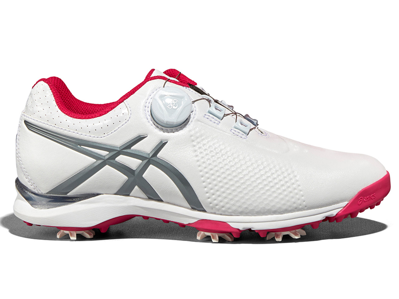 Asics Ladies Gel Ace Tour 3 BOA Golf Shoes - White Grey - Ladies For ... d666844f8