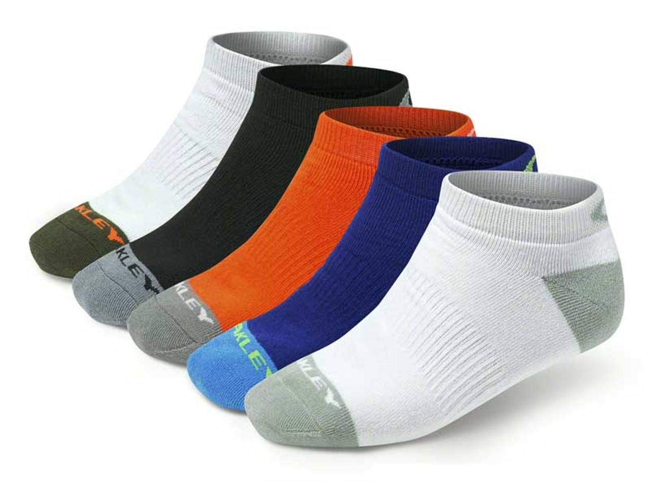 27979d2eb9 Oakley Performance Basic Low Cut 5 Pairs Of Socks - Multi - Mens For ...